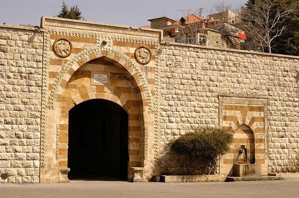 Beiteddine Palace, 50 km SE of Beirut