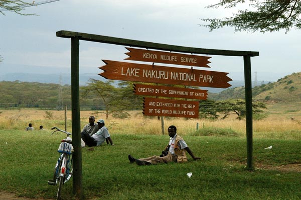 Entrance to Lake Nakuru National Park
