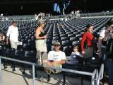 Season-Ticket Holder Enjoying Seat