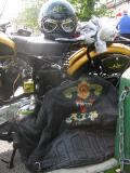 Bikers Leathers and Helmet