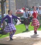 Highland Dancers and Piper