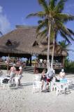 Isolated Beach south of Costa Maya