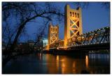 Tower Bridge Sacramento,  Ca.