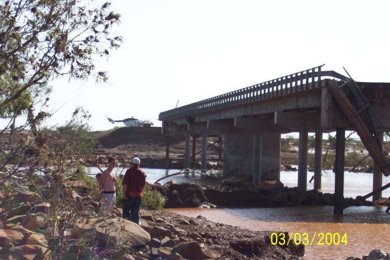 Chopper at Maitland Bridge.JPG