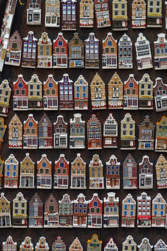 Fridge magnets, Amsterdam