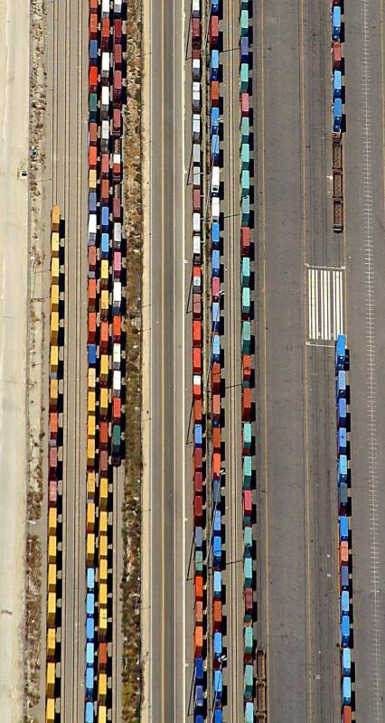 Rail sidings, Long Beach, Ca