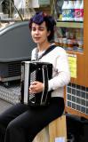 Street musician, Paris