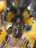 Dancer with cigarette