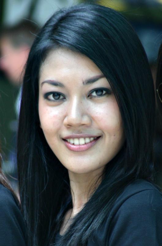 Malaysian Grand Prix Grid Girl