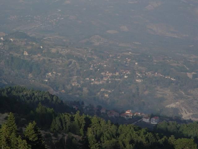 Trikala wards on the northeastern Ziria slopes