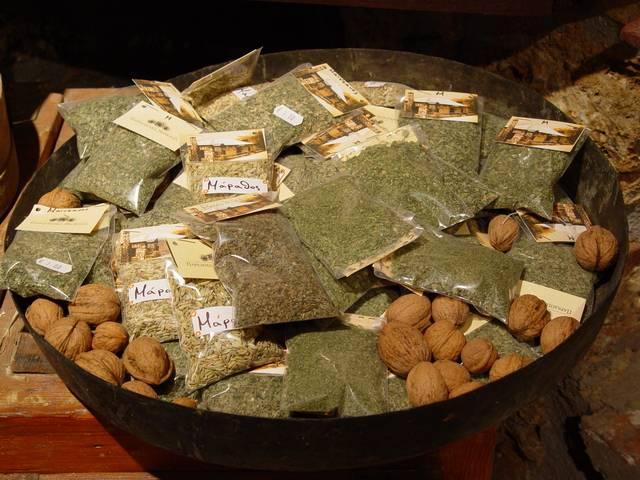 Mountain spices...