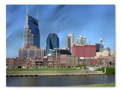Nashville Skyline with added depth