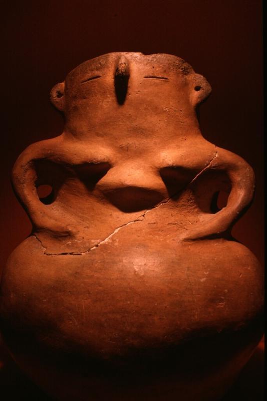 Anthropomorphic vase