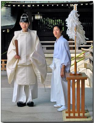 Shrine Guards - Meiji Jingu Shrine, Tokyo