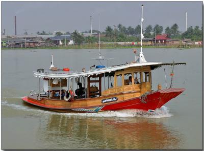 River tug boat - Chao Phraya River