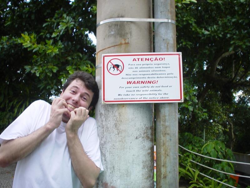 Wilson, my fearsome Carioca guide
