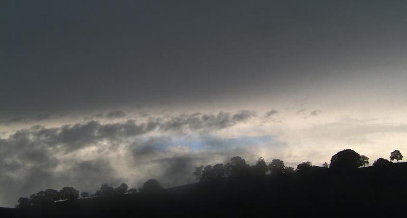 Rain in the dawn