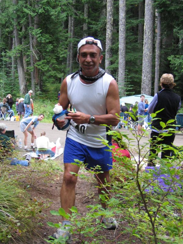 Jamshid Khajavi just ran Leadville