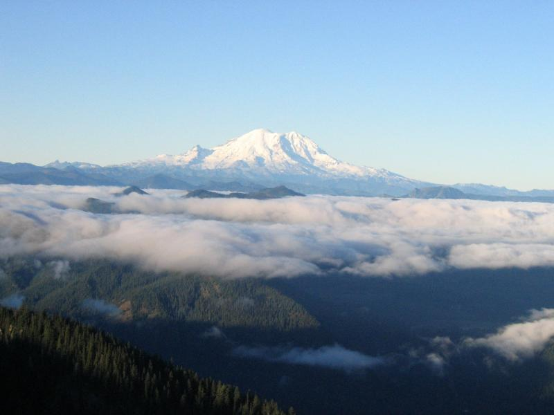 Another Mt. Rainier from Thorpe Mt.