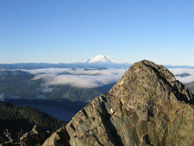 Mt. Rainier from the summit
