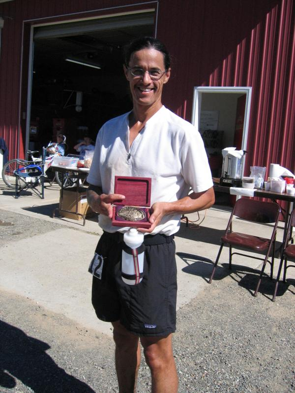 Tony C earns his third CCC buckle