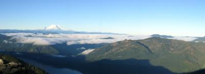 Panorama from Thorpe Mt.