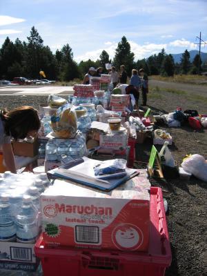 Aid Station Supplies