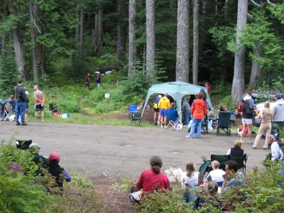 TACOMA PASS AID STATION<br>Mile 22</br>