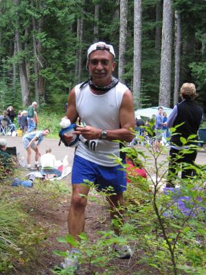 Jamshid Khajavi just ran Leadville