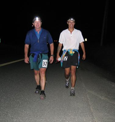 Marco Johnson & Tony C on the way to Hyak/Gold Creek