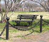 park bench museum