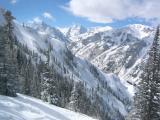 Skiing Aspen Highlands '04