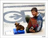 Boy on the street - Lissabon