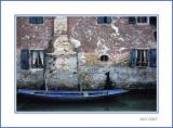 Italien boat and house - Venezia