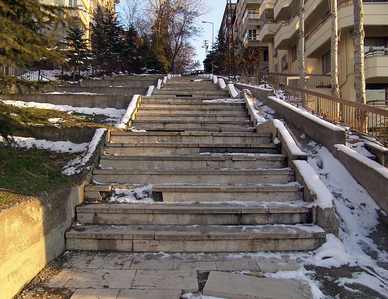 Turkish-style stairs
