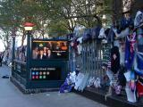 St Paul's Churchyard by Fulton St Subway Entrance - Remembrances