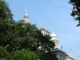 Municipal Court and City Hall Cupulas