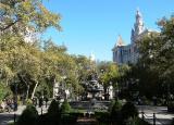Municipal  Court  from City Hall Park