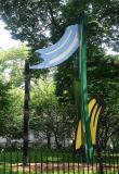 Sculpture at City Hall Park