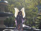 Angel at City Hall Fountain