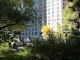 City Hall Park View toward Broadway