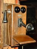 Old telephone at Bonavista museum