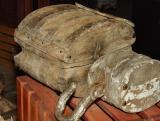 Wooden block & tackle at Bonavista museum