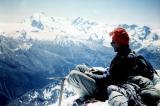Au sommet du Weisshorn (4505 m) : R. Ollivier