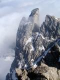 Petite Aiguille d'Ansabere vue du Pic d'Ansabère