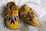baby mocassins. lakota