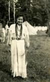 restored picture. potawatomi woman 1920's