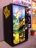 live bait. from the machine?
