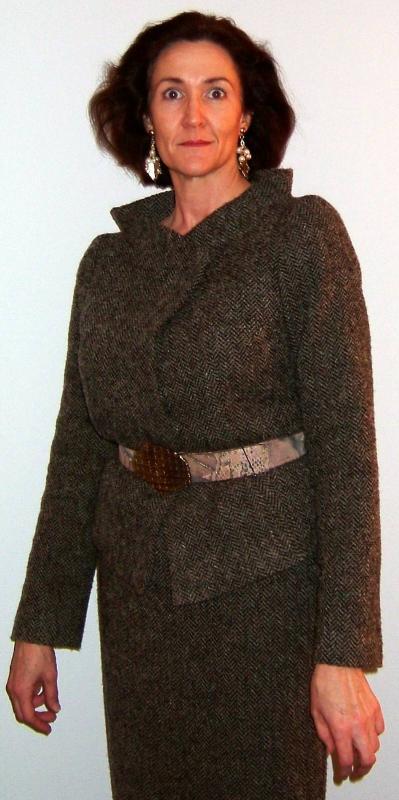 Donna Karan knock-off suit.