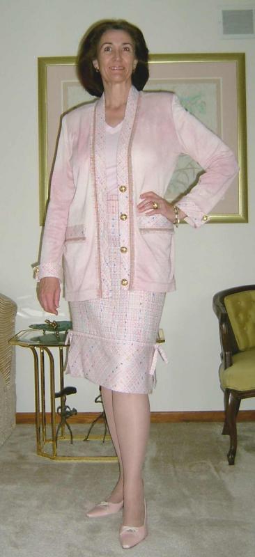 PinkTweed Suit